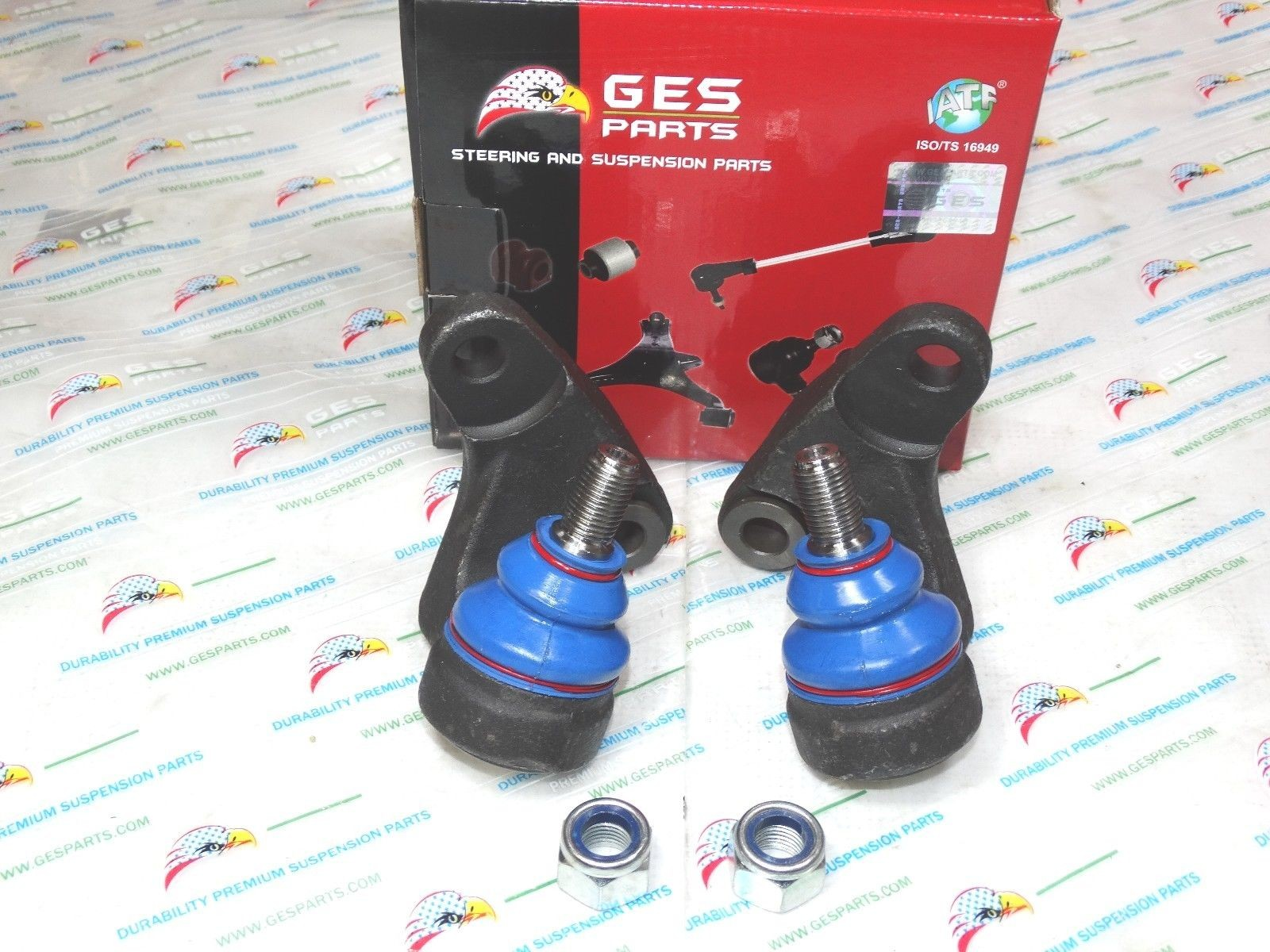 01-05 E46 Xi 4x4 2 FRONT LOWER INNER BALL JOINTS 31126756695 31126756696