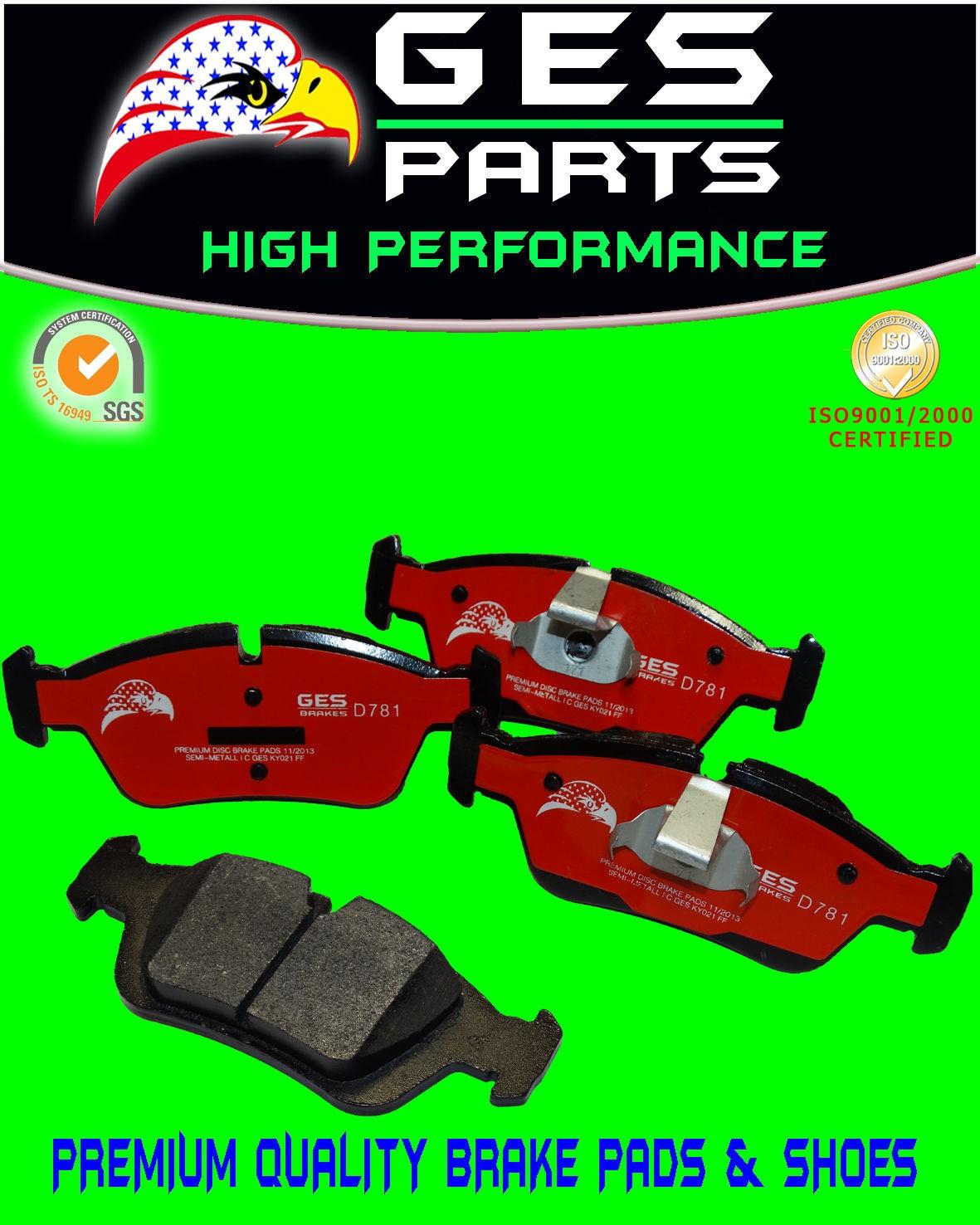 Premium Quality Front Brake Pad BMW 318i 318is 318ti 323Ci 323i 323iC  323is 328i 325Ci 325i 325is 325xi Z4 D781 & D558-7437