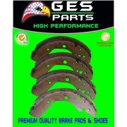 Premium Quality Rear Drum Brake Shoes 99-03 Odyssey 744