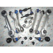 12Pcs Suspension & Steering Control Arms & Ball Joint Sway Bar Links Tie Rod End 4D0 407 151P 8E0 419 811B 8E0 407 693Q