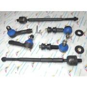 6PCS Front Sway Bar Links Tie Rod Ends Inner & Outer ES2814 EV401 K9824
