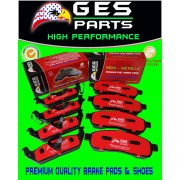 Premium Quality Brake Pads 2 Sets Front & Rear 04-08 FORD F150 Lincoln Mark LT D1083 / D1012