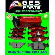 Premium Quality 2 Front & Rear Brake Pads BMW 318i 318is 318ti 323Ci 323i 323iC  323is 328i 325Ci 325i 325is 325xi Z4 D781 & D396