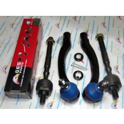 4Pcs Outer & Inner Tie Rod Ends EV299 ES3331 ES3332