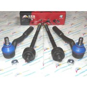 W211 E320 E350 E500 E550 NEW 4PCS Front Tie Rod Ends Inner & Outer
